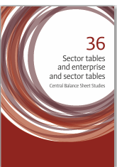 Central Balance Sheet Studies - Sector tables and enterprise and sector tables