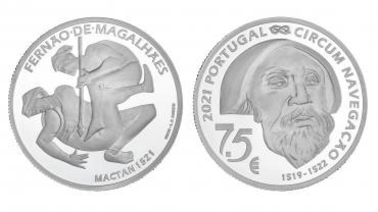 """Moeda de coleção """"Mactan 1521"""" entra em circulação a 14 de abril"""